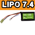 Valken Energy LiPo 7.4v 1300mAh PEQ-15 Battery